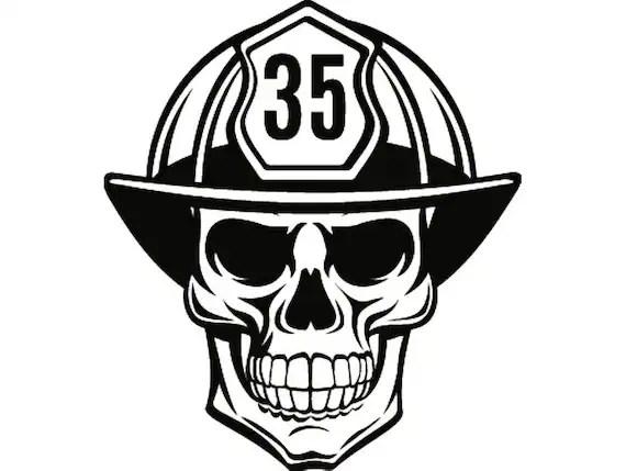 Firefighter Skull 1 Firefighting Helmet Fireman Fighting