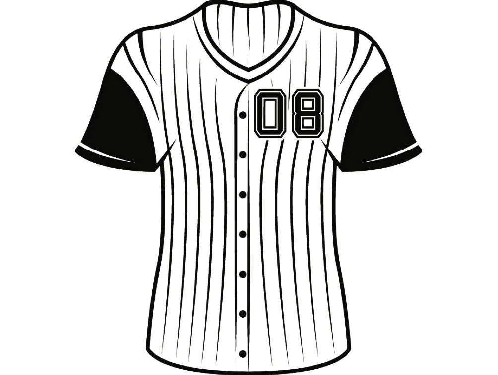 Baseball Jersey #2 Uniform Ball Sports League Equipment