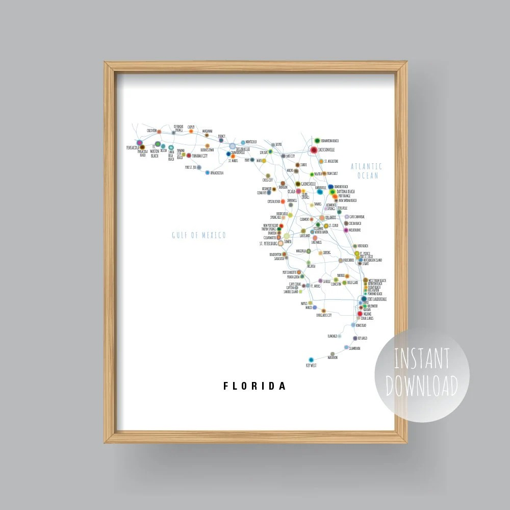 Map Of Florida Counties With Major Cities.Search The County Map Florida Counties Printable U2013