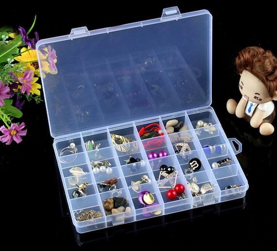 Storage Box Storage Box With Lid Craft Organizer Storage Etsy