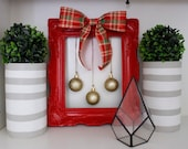 Christmas frame ornament decor