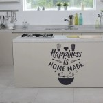 Happiness Is Homemade Wall Decal Kitchen Decal Kitchen