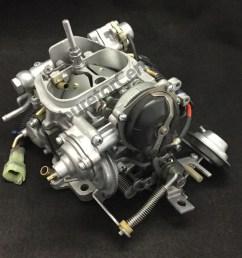 1987 toyotum pickup carburetor diagram [ 958 x 978 Pixel ]