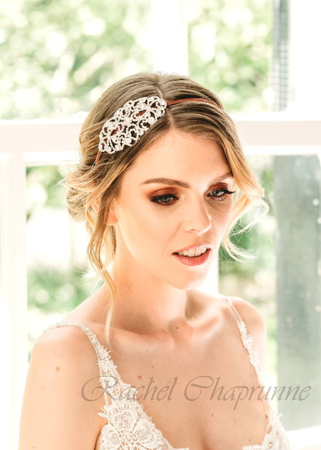 wedding hair piece, vintage bridal headpiece, 1920s wedding hair accessory, 1920s wedding headpiece, vintage wedding hair piece