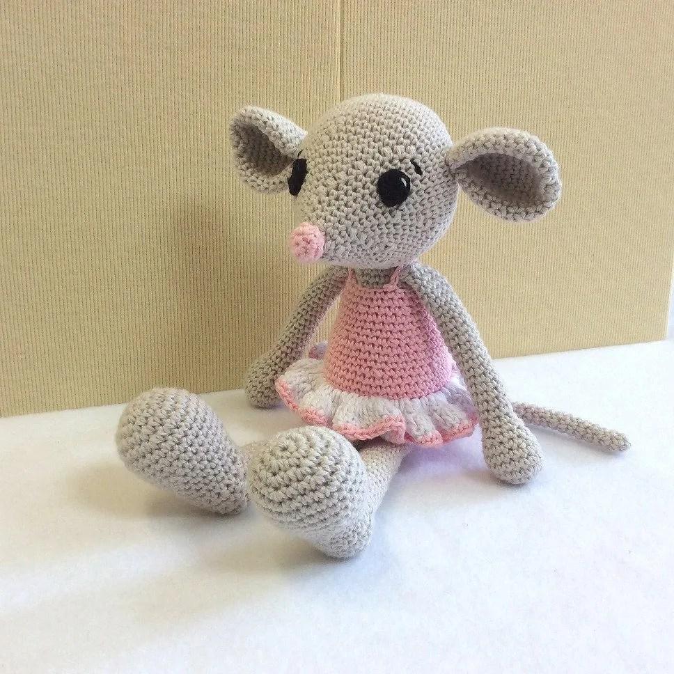 amigurumi mouse crochet mouse