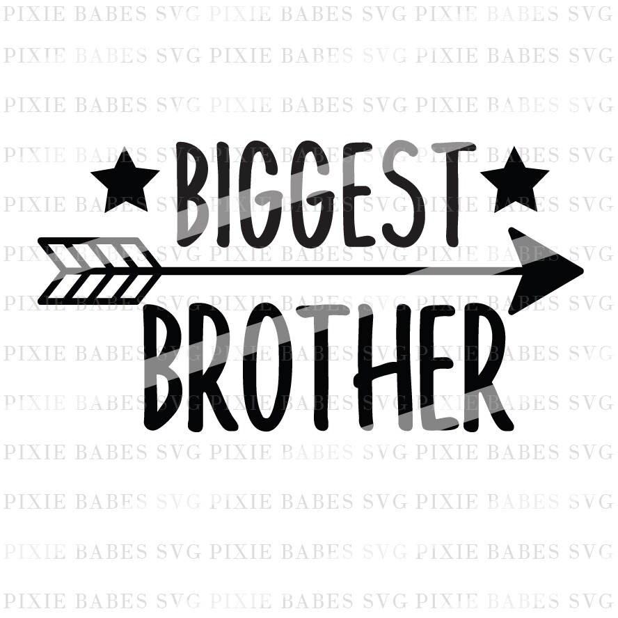 Big Brother SVG Brothers SVG Lil Bro svg Siblings svg big