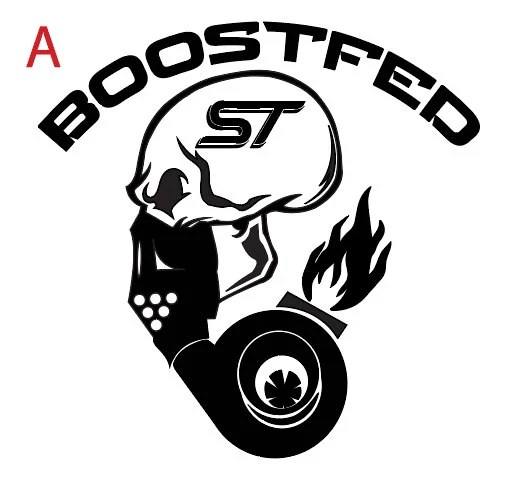 Eco-Boost Decal Ford Mustang Ecoboost Vinyl Aufkleber