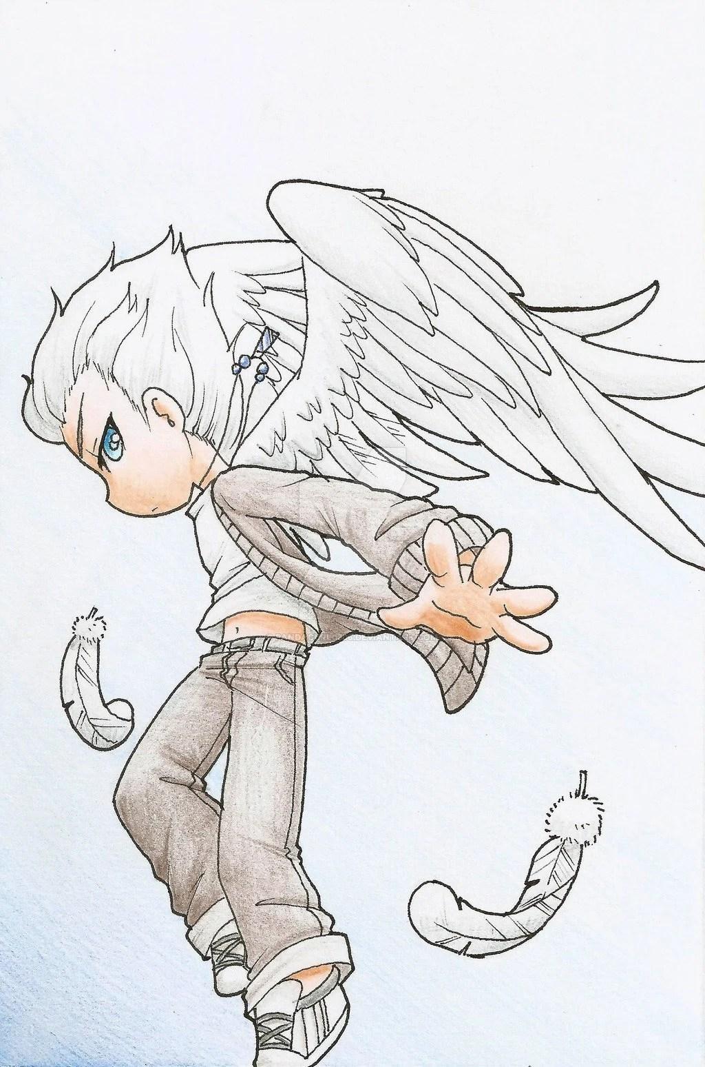 Chibi Angel Wings : chibi, angel, wings, Anime, Angel, Wings, Chibi