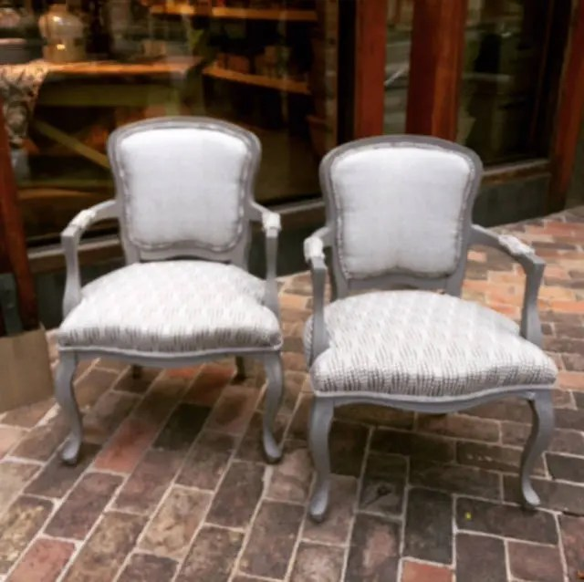 reupholstering a chair york swivel harvey norman reupholstered etsy french antique price per