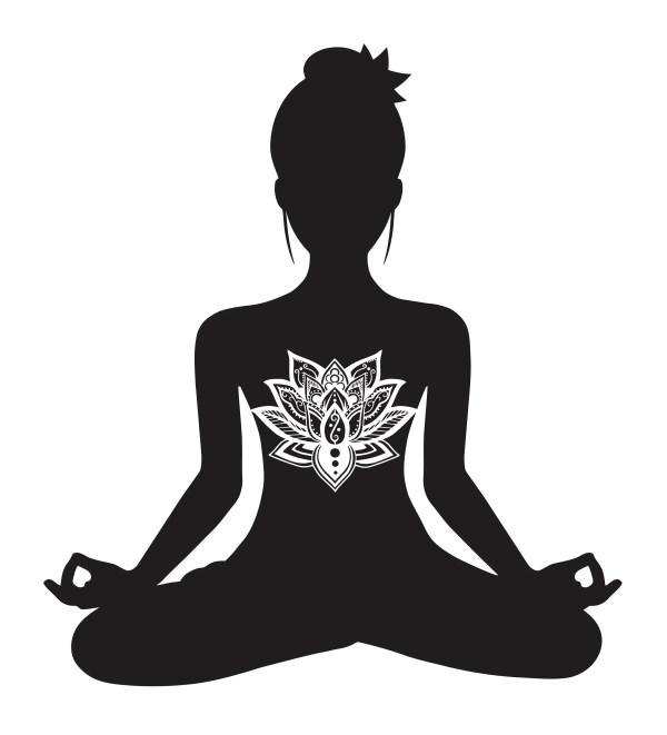 Lotus Mandala Meditation Svg Digital Cut File