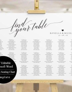 Image also editable seating chart wedding template etsy rh
