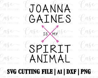 Download Always be Yourself Joanna Gaines SVG Cutting File Ai DXF ...