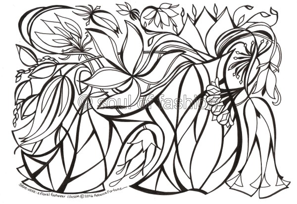 optical illusions coloring pages # 56