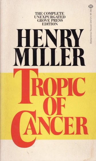 Henry Miller Tropic of Cancer Literatur Writer | Etsy