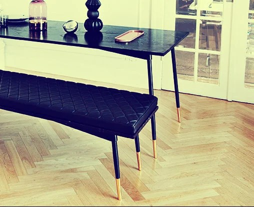 kitchen table base hanging rack best metal for marble miami steel brass dining etsy image 0