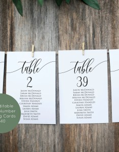Image also wedding seating chart template table printable etsy rh