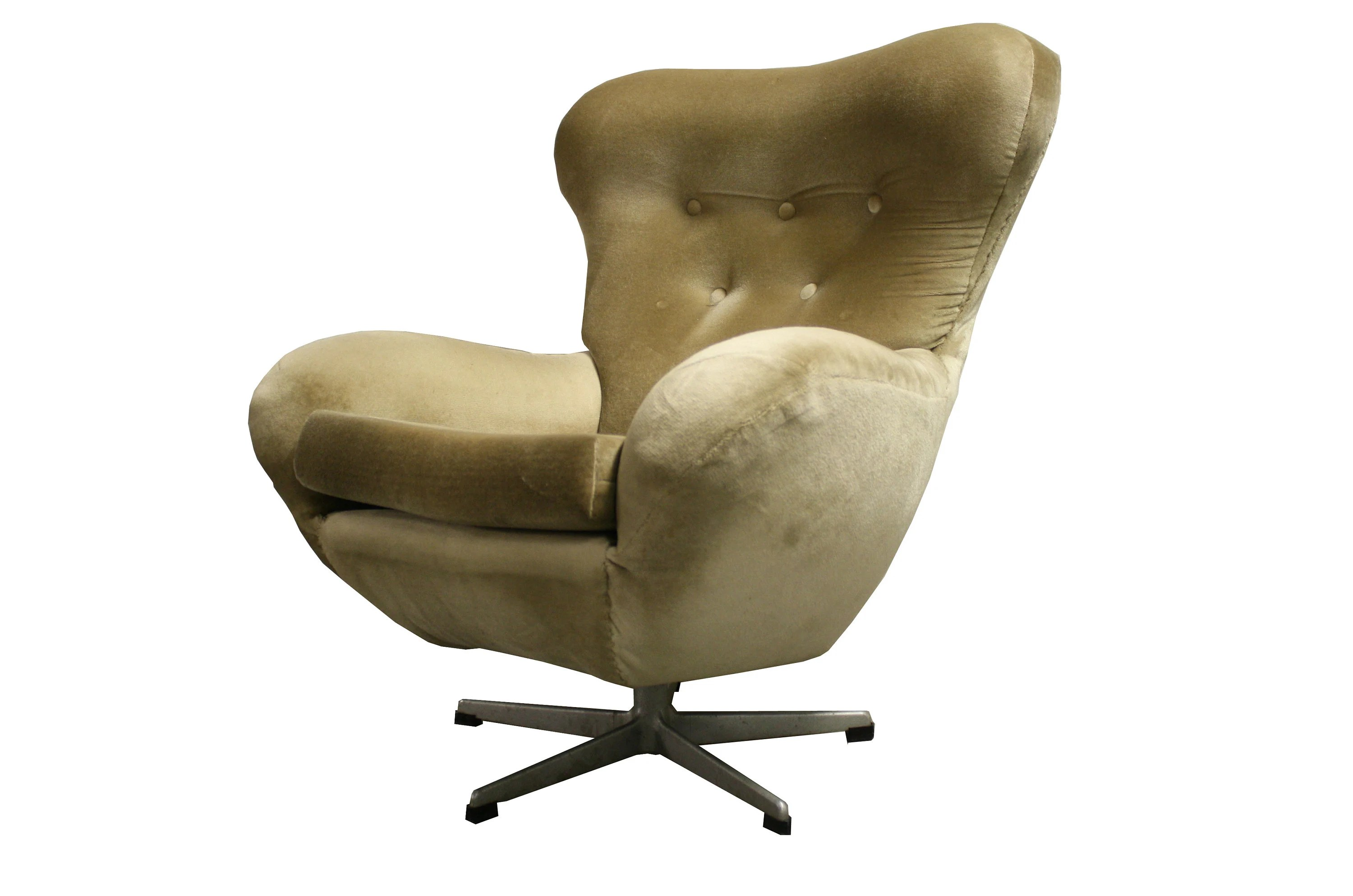 Vintage Swivel Chair Mid Century Modern Design Egg Swivel Chair 1960 S Vintage Swivel Chair Lounge Chair Relax Chair Design Chair 1960 S Chair
