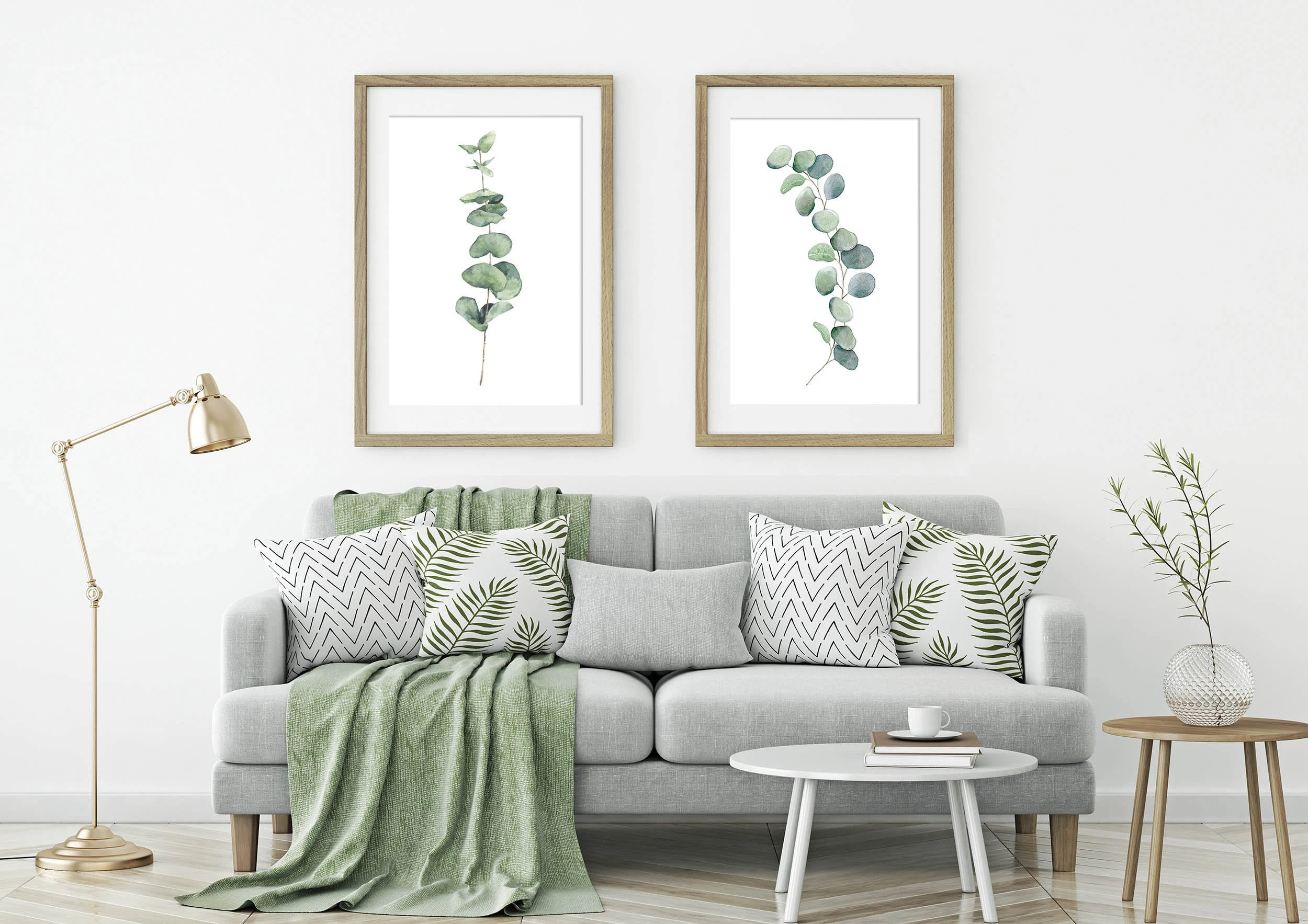 eucalyptus leaves silver dollar