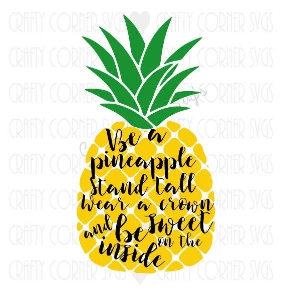 pineapple svg be a