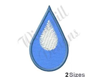 water drop emoji etsy