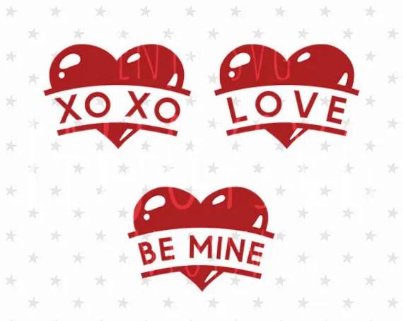 Download Valentines day Heart svg Love svg XOXO svg Be Mine svg   Etsy