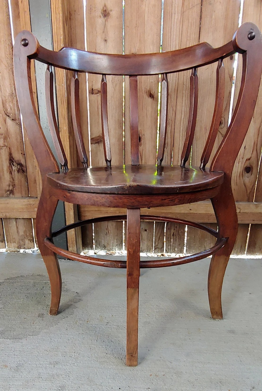 wooden chairs pictures church direct etsy antique mahogany curved corner chair