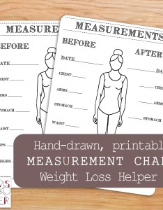 Image also printable body measurements chart bullet journal inches lost etsy rh