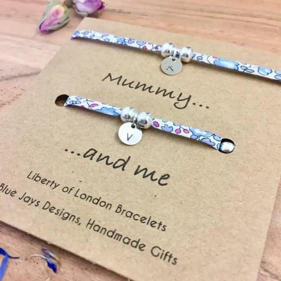 Mum and Daughter Bracelets