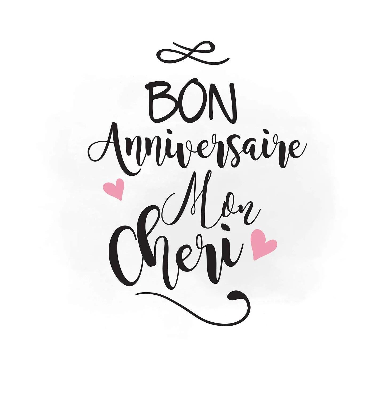 Happy Anniversary Svg Clipart Bon Anniversaire Svg Cutting