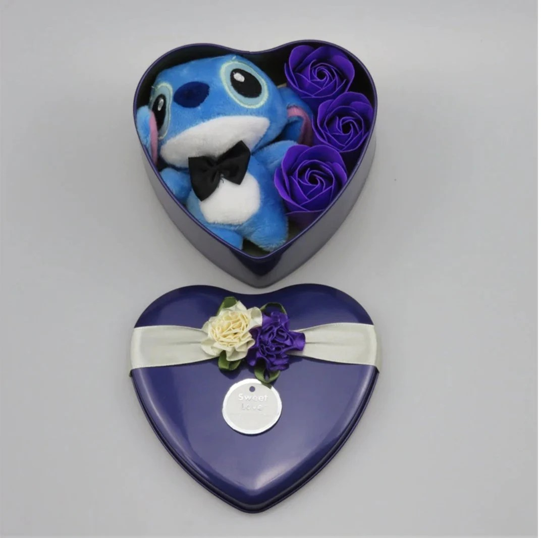 Inspired by disney Handmade lovely stitch plush toys with soap image 7