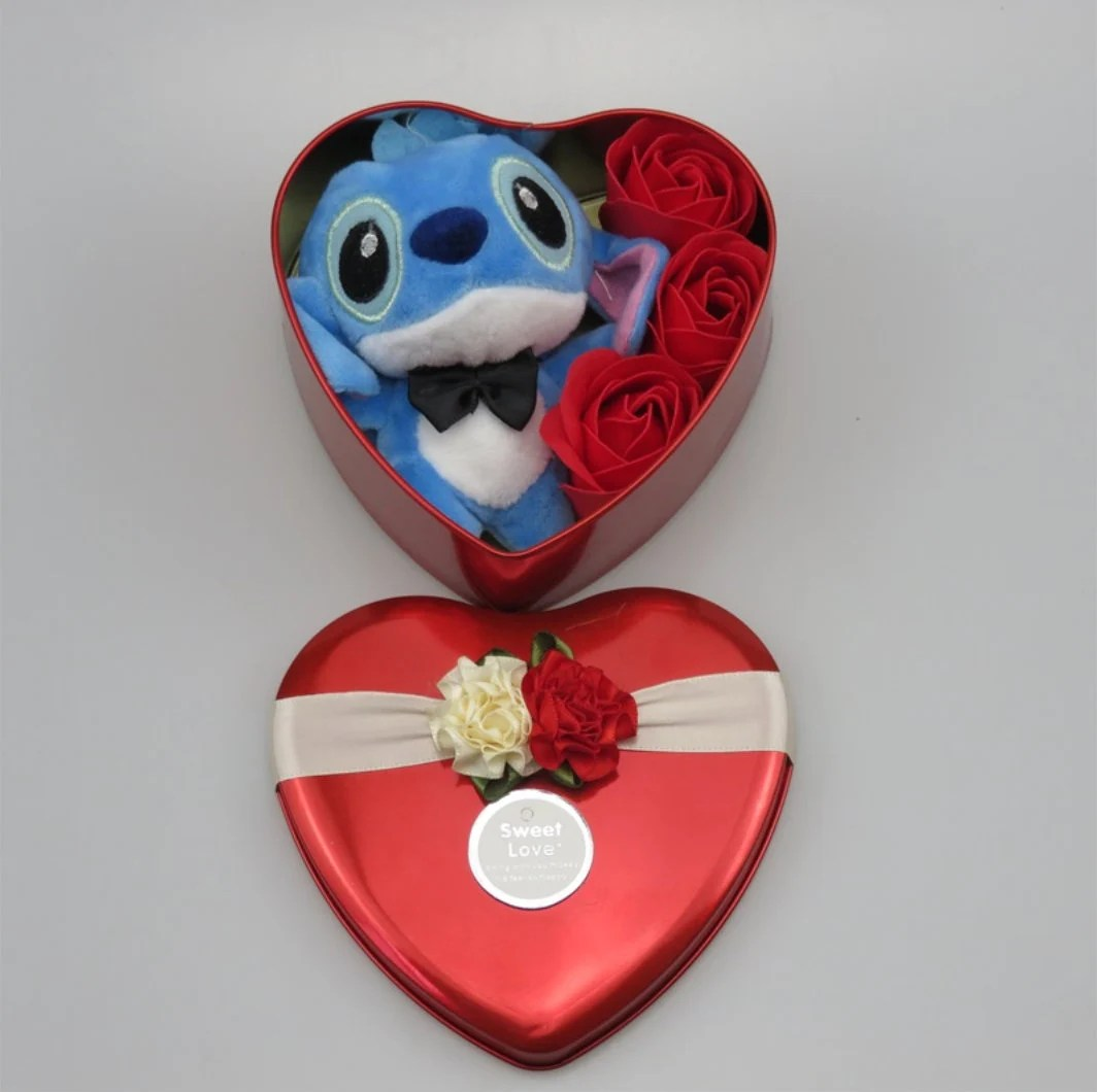 Inspired by disney Handmade lovely stitch plush toys with soap image 8