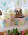 Cactus Baby Shower Onesie Cupcake Topper Food Picks Printable Etsy