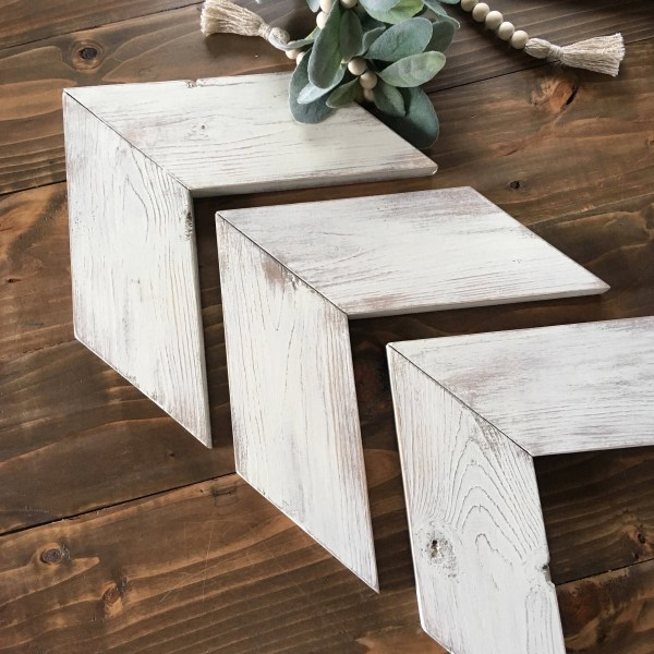 Wooden Arrows Chevron Decorative Wall Wood
