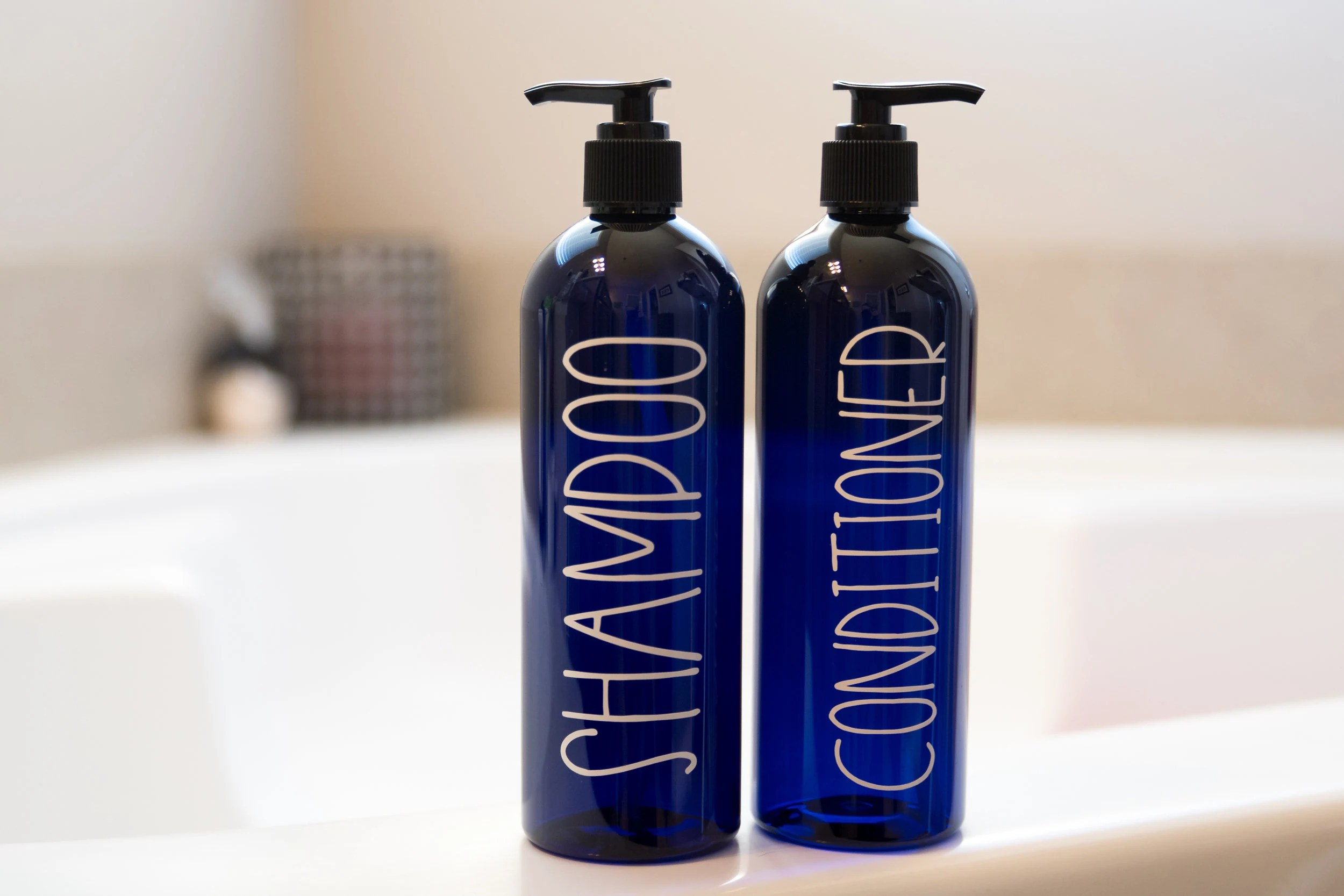 Blue Bathroom Accessories Blue Bathroom Accessories Set Modern Bathroom Storage Containers Body Wash And Lotion Bottles Shampoo Pump Bottles Labeled Bottles