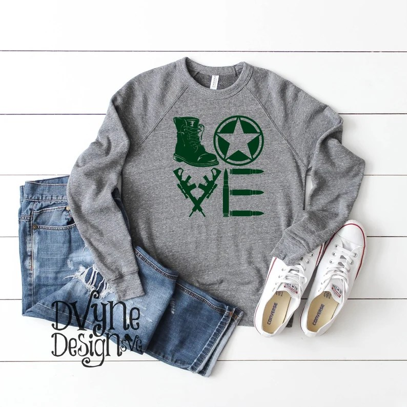 Download Army Love SVG Army SVG Army Wife or Girlfriend SVG ...