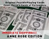 PSYCHIC PLAYING CARDS! Start Reading Instantly! The Anne Rose Deck - A great alternative to Tarot Decks!