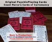GIVE PSYCHIC READINGS Now - Original Psychic Playing Cards! (Rosa Rossa Edition)