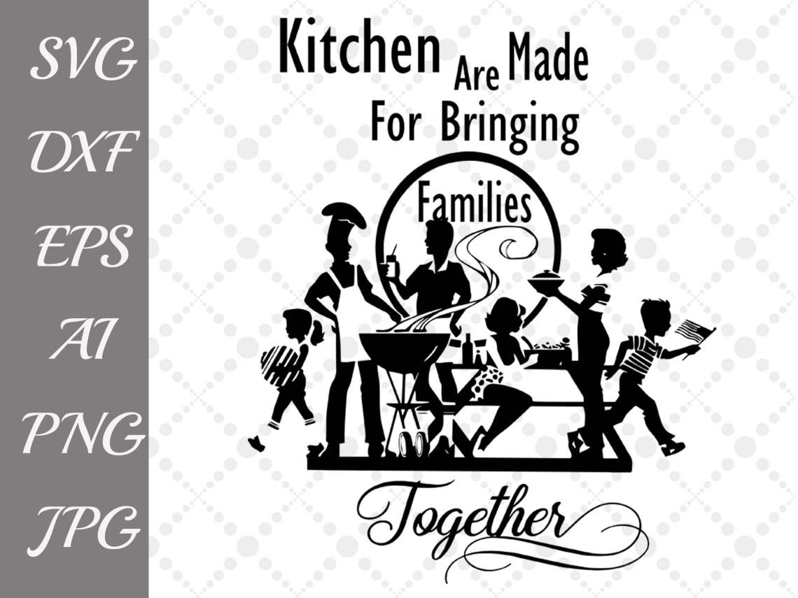 Download Kitchen Quote Svg: KITCHEN SVG Family | Etsy