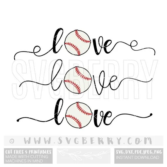 Download Love Baseball SVG / Baseball Mom Shirts / Baseball Shirt ...