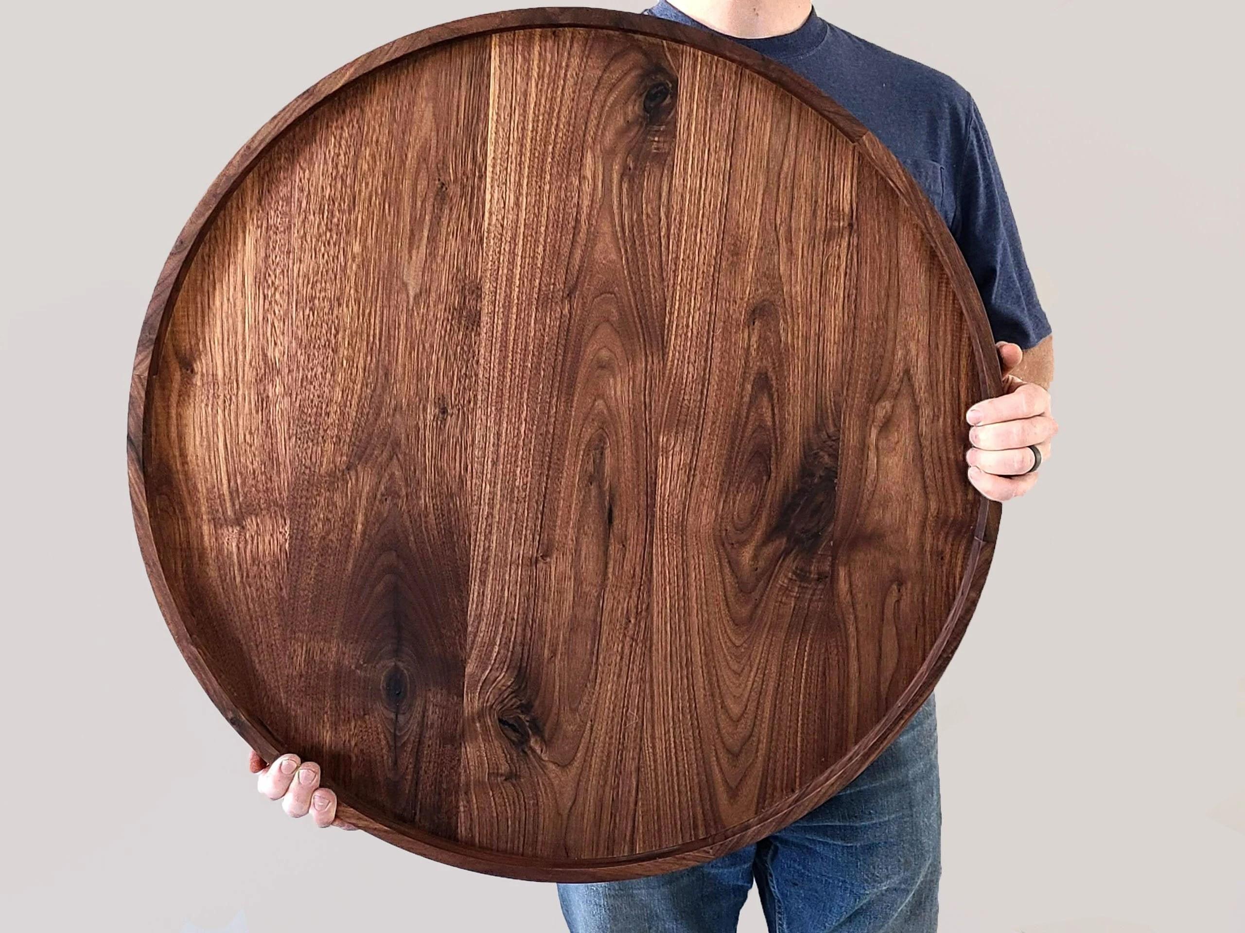 round ottoman tray etsy