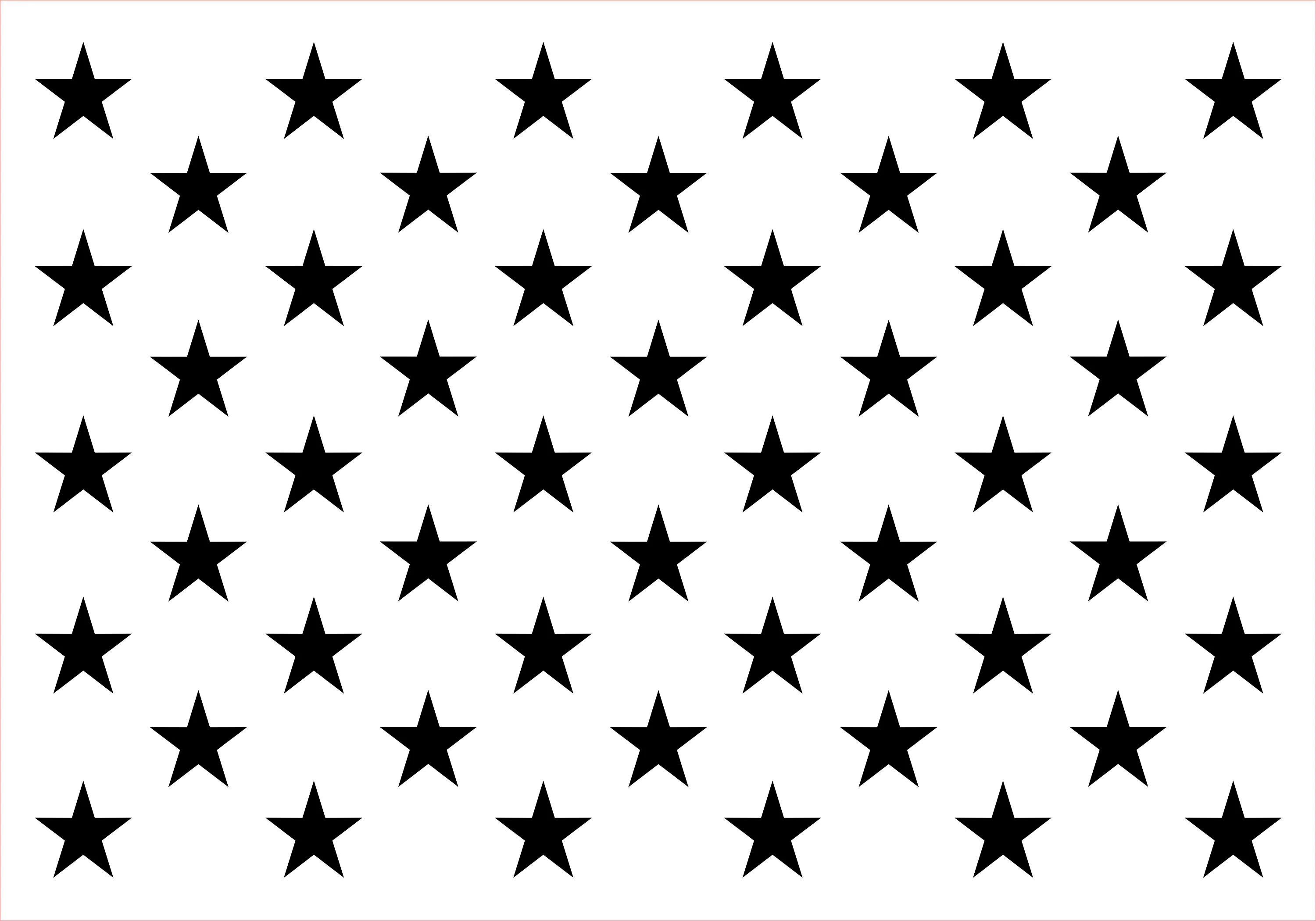 Usa Flag Template Star Template Great For Homenade Craft