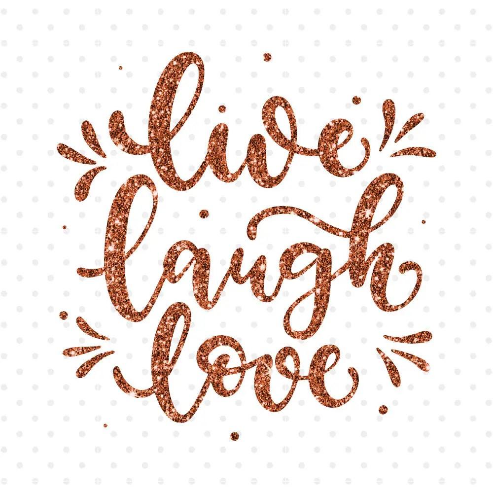 Download Live Laugh Love svg Hand lettered t shirt design svg png ...