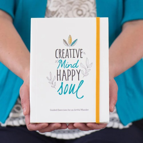 Creative Mind. Happy Soul. Doodle Journal Guided Journal image 0