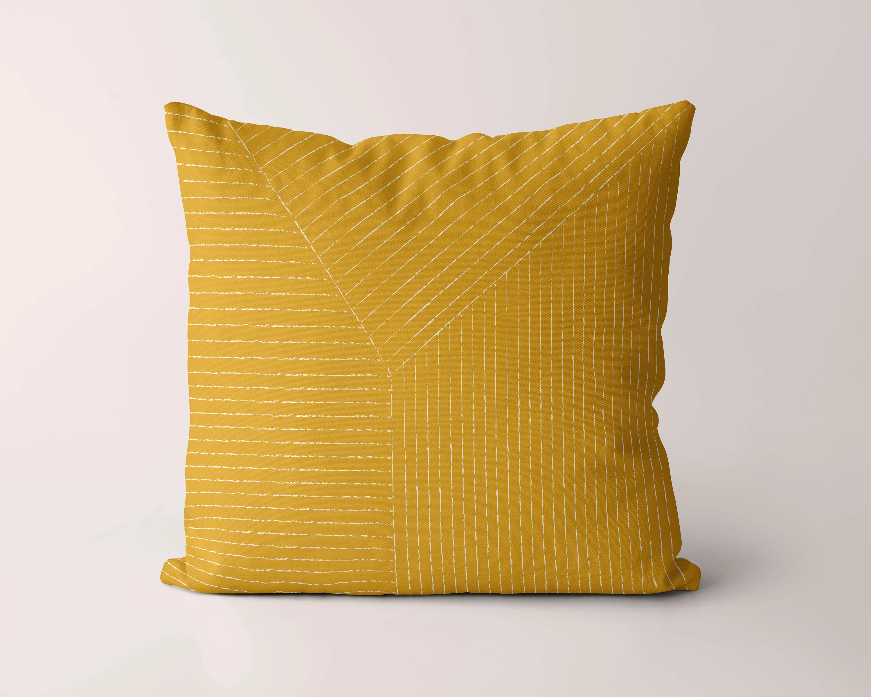yellow pillow cover etsy