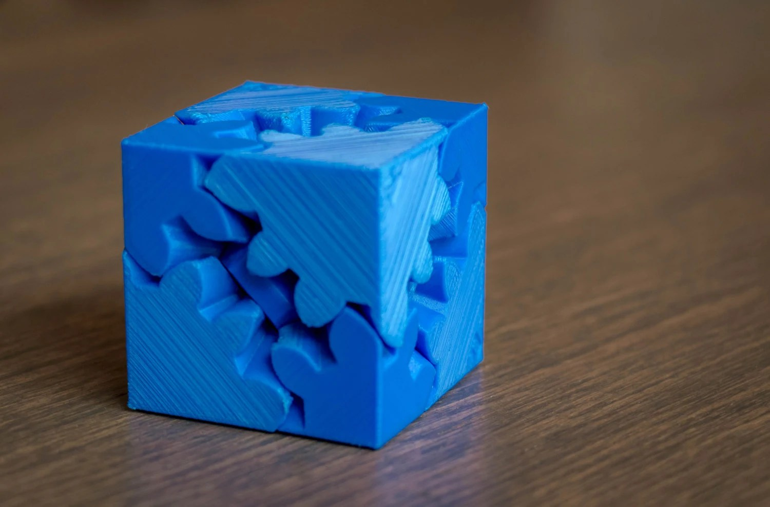 3d printed cube gears