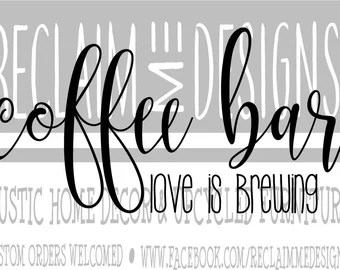 Download Love is brewing | Etsy