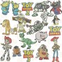 Toy Story Embroidery Designs Set Of 17 Buzz Embroidery Etsy