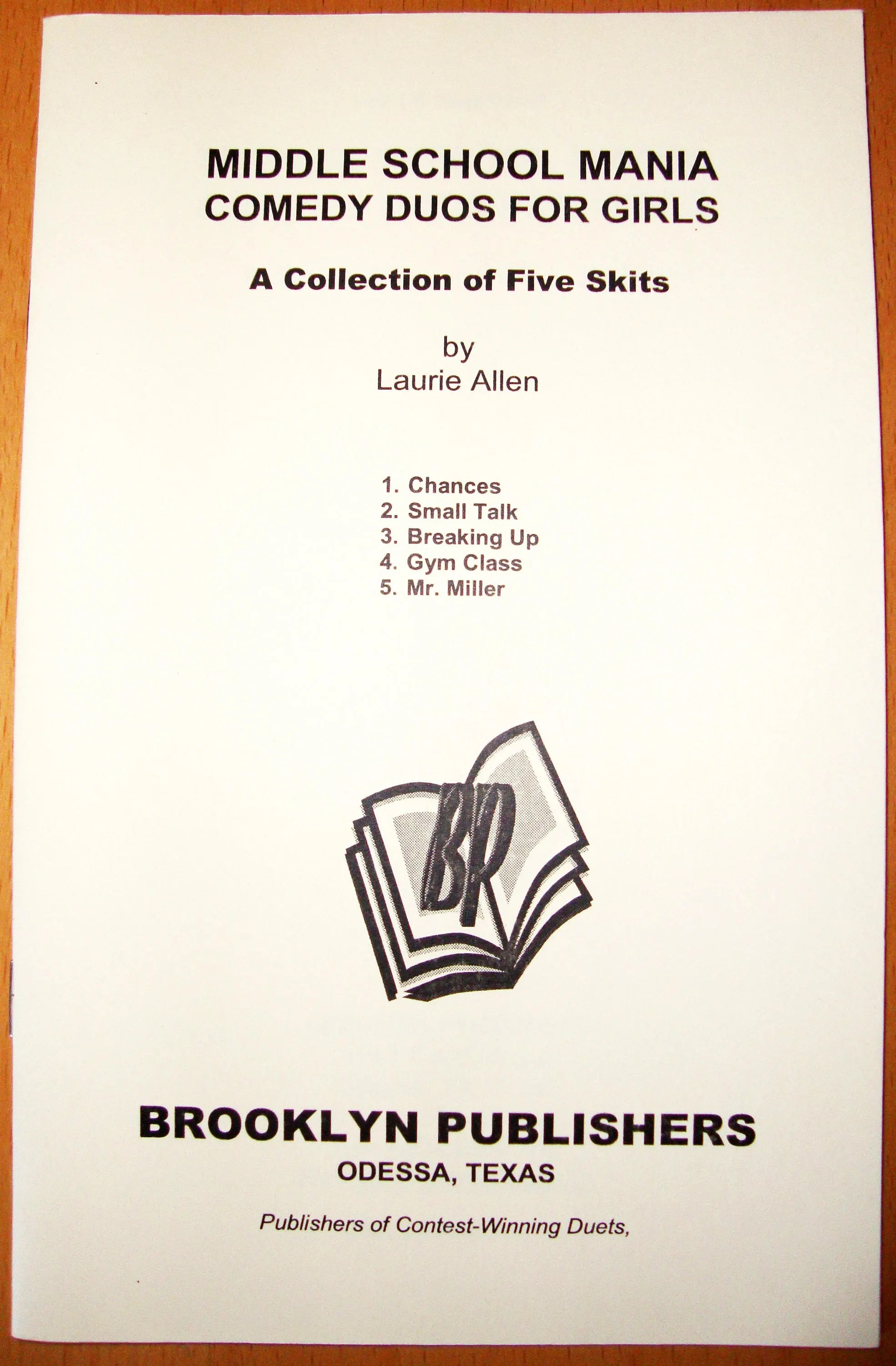 Funny Skits For Welcome Party : funny, skits, welcome, party, COMEDY, GIRLS, Laurie, Allen, Brooklyn, Publishers