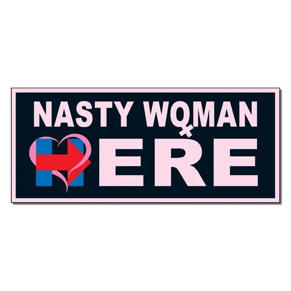 nasty woman love heart