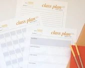 Yoga Class Plan, Yoga Class Plan Printable, PDF Download, Yoga Teacher Class Plan Template, Yoga Class Sequence, Instant Download, Yoga